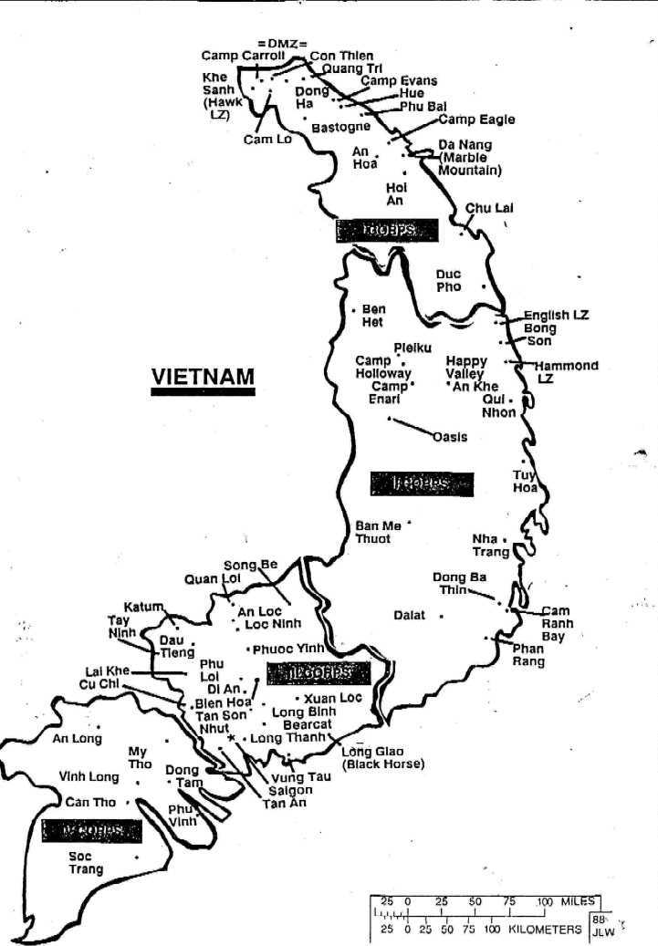 Bong Son Vietnam Map